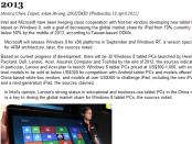 Intel-Microsoft aim to push down iPad global market share